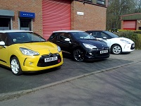 Citroen DS3s awaiting tuning and remapping