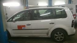 VW Touran 1.9 TDi DPF Removaland ECU Remap