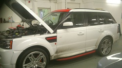 Range Rover Sport SDV6 ECU Remapping