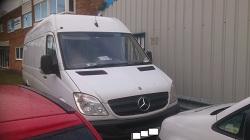 Mercedes Sprinter DPF Removal