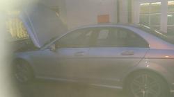 Mercedes c220Cdi w204 DPF Removal