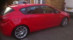 Vauxhall Astra J 1.6 Remap