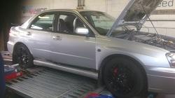 Subaru Impreza WRX Remap and Dyno Session