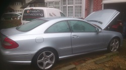 Mercedes CLK 220 CDi Remap