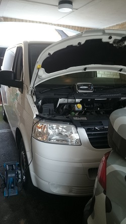 VW Transporter T5 1.9 84 Remap