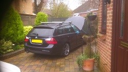 BMW E91 325D Remap