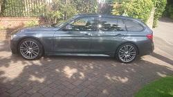 BMW f31 320d 184Bhp Tuning