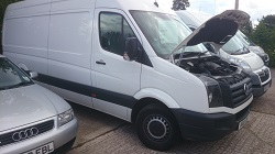VW Crafter 2013 2.0 Tdi Remap