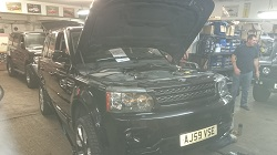 Range Rover Sport TDV6 Remap