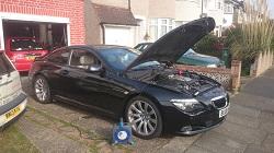 BMW E63 635D Auto Remap flashremapping.co.uk
