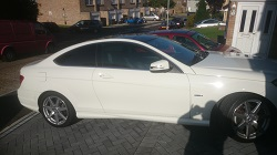 Mercedes c250 CDi Coupe Remap