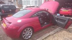 Audi TT 1.8T 225Bhp Remap