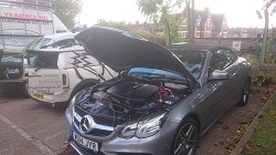 mercedes-w207-e220-cdi-remap