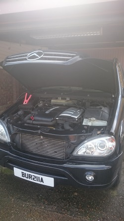 Mercedes ML270CDi Remap